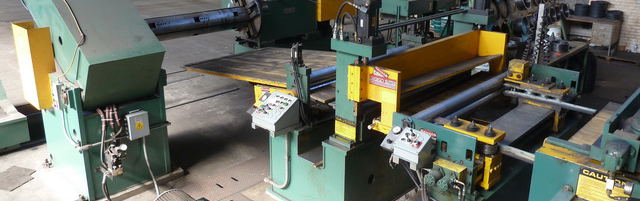 Chicago Injector Head Slitting Line from Coil Processing Equipment Consultants