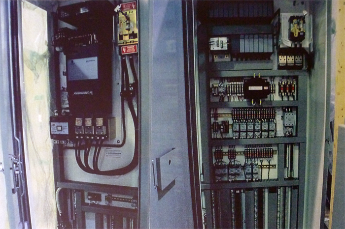 Nova Electrical Control Panel and Main Operator's Bench Board