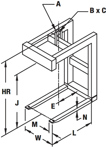 fixed-fork-pallet-lifter-diagram