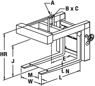 hand-wheel-pallet-lifter-diagram