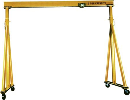 steel-adjustable-height-span-gantry