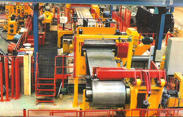 Bread N Butter Driven Slitting Line