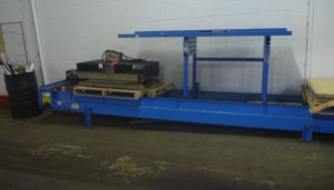 Used Braner Dual Rotary Scrap Choppers